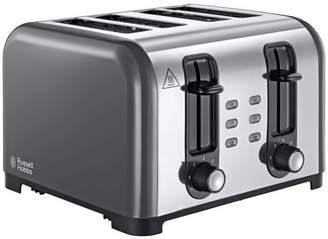 Russell Hobbs Oslo 4-Slice Grey Toaster 23546
