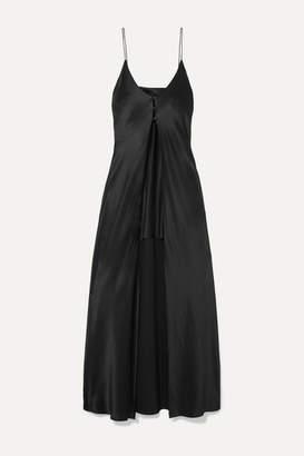Michael Lo Sordo Silk-satin Camisole - Black