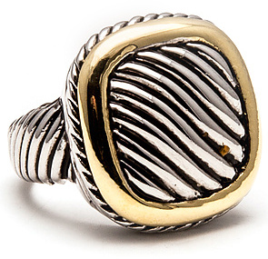 *MKL Accessories The Classic Two-Tone Ring