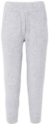 Brunello Cucinelli Bouclé Track Pants - Gray
