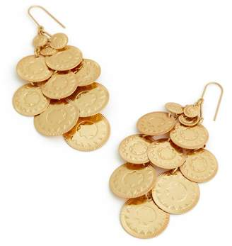 Tory Burch Coin Chandelier Earring