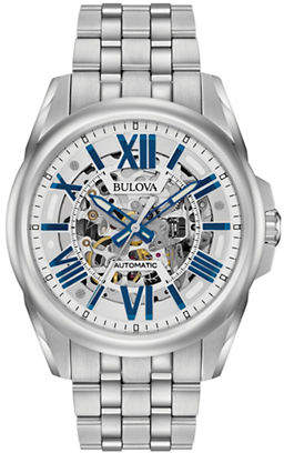 Bulova Automatic Stainless Steel Mechanical Watch