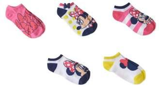 Puppy Dog Pals No Show Socks, 5 Pairs (Little Girls & Big Girls)