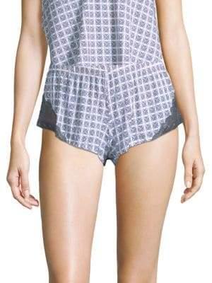 Cosabella Geometric-Print Boxer Shorts