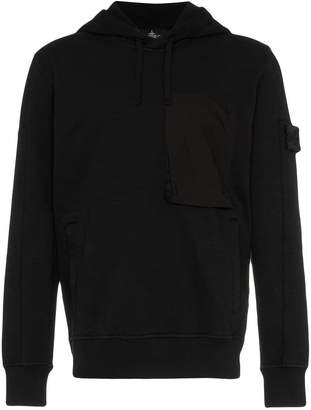 Stone Island Shadow Project front pocket long sleeve cotton hoodie