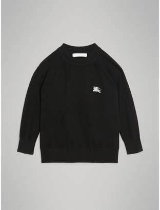 Burberry Crew Neck Cashmere Sweater , Size: 6Y