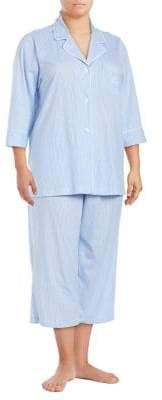 Lauren Ralph Lauren Plus Windsor Pajama Set