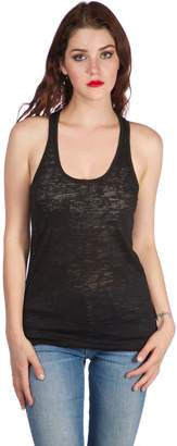 Hollywood Star Fashion Womens Sleeveles Burnout Tank Top (Extra Large, )