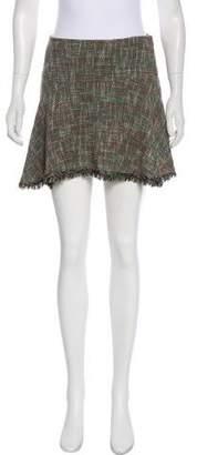 Theyskens' Theory Textured Mini Skirt