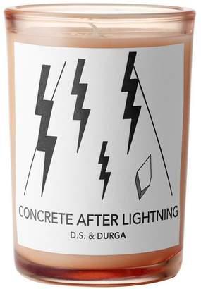 D.S. & Durga Concrete After Lightning Candle 200g