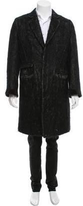 John Galliano Wool & Mohair-Blend Coat