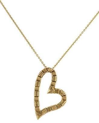 Roberto Coin 18K Appassionata Heart Pendant Necklace