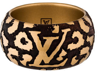 Louis VuittonLouis Vuitton Leo Monogram Bangle