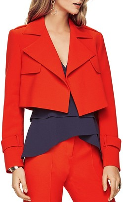 BCBGMAXAZRIA Gerald Cropped Jacket $248 thestylecure.com