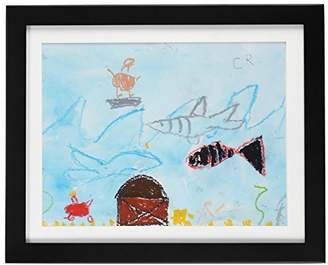 """DaVinci Child Artwork Frame - Display Cabinet Frames And Stores Your Child's Masterpieces - 8.5"""" x 11"""" (Black)"""