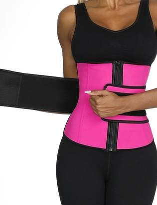 f50131e4a4 Hilization HiliZ Women Waist Trainer Corset Adjustable Straps Waist Trainer  Zipper Cincher Trainer Belt Waist Plus
