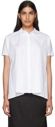 6397 White Trapeze Shirt