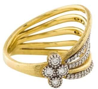 Jude Frances 18K Diamond Provence Open Ring