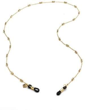 Corinne McCormack Double Ball Eyeglass Chain