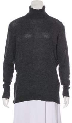 Nina Ricci Wool-Blend Turtleneck Lightweight Sweater