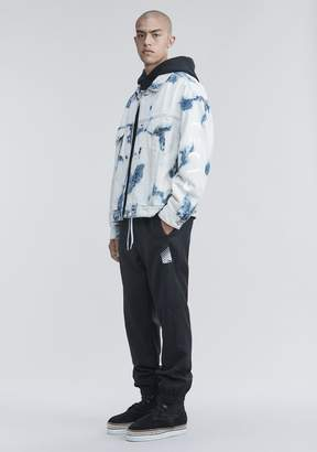 Alexander Wang BLEACHED DENIM JACKET