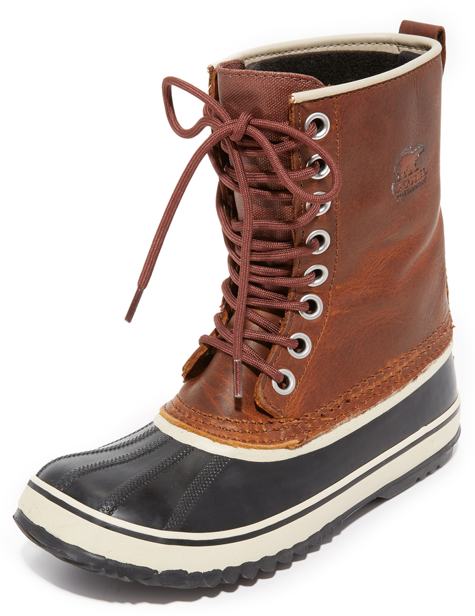 sorel 1964 premium leather boots shopstyle