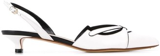 Francesco Russo low slingback pumps