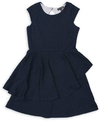 Ava & Yelly Girl's Peplum Dress