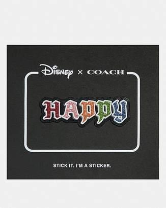 Coach Disney X Happy Sticker