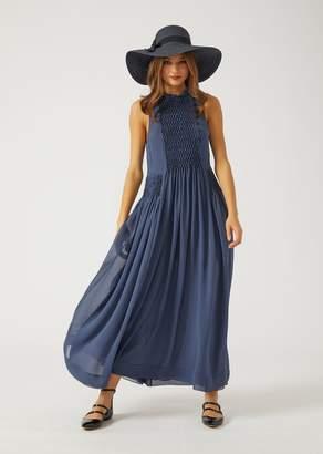 Emporio Armani Silk Crepe Dress