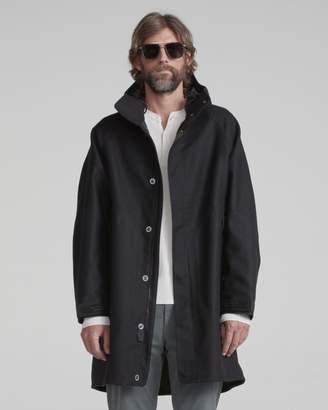 Rag & Bone x agata osti reversible wool parka