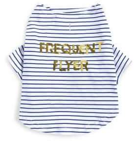 Bow And Drape Frequent Flyer Pet Tee