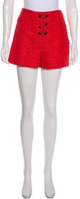 Proenza Schouler High-Rise Tweed Shorts w/ Tags