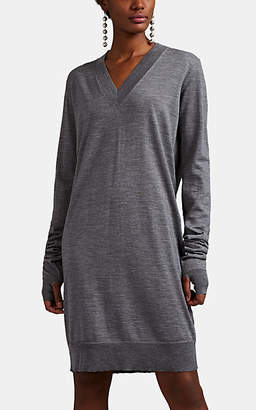 Maison Margiela Women's Fine-Gauge Knit Wool Sweaterdress - Gray