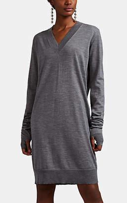 Maison Margiela Women's Fine-Gauge Knit Wool Sweaterdress - Gray