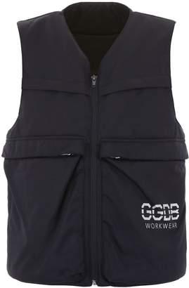Golden Goose Vest With Ggdb Print