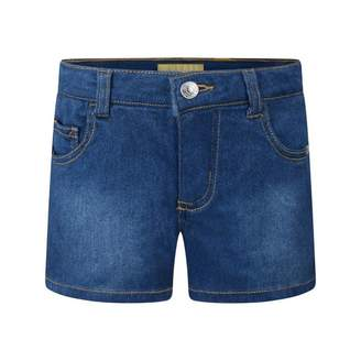 GUESS GuessGirls Blue Denim Stretch Shorts