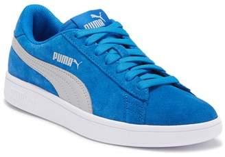 Puma Smash V2 Suede Sneaker (Big Kid)
