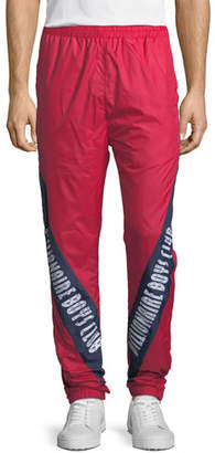 Billionaire Boys Club Men's Logo-Typographic Sprints Pants