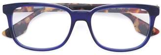McQ Eyewear contrast square glasses