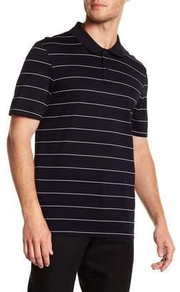 Vince Pencil Striped Polo Shirt