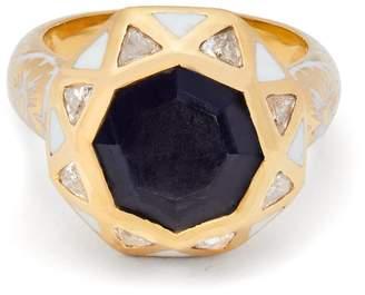 Jade Jagger Sapphire octagon ring
