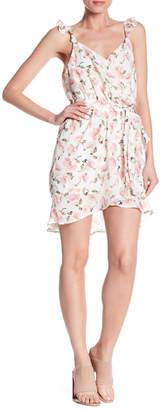 AFTER MARKET Floral Hi-Lo Dress
