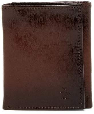 Original Penguin Michigan Slim Tri-Fold Wallet