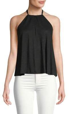 Club Monaco Sandinh Halter Gathered Top