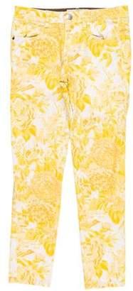 Stella McCartney Printed Mid-Rise Jeans