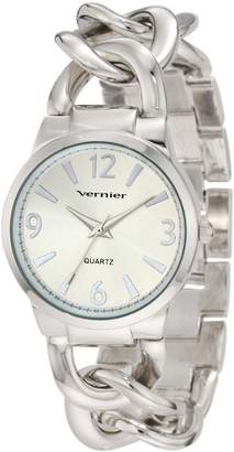 Vernier Women's VNR11081SS Classic Fashion Bracelet Quartz Watch