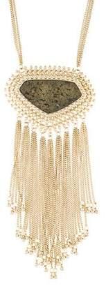 Kendra Scott Pyrite Pendant Necklace
