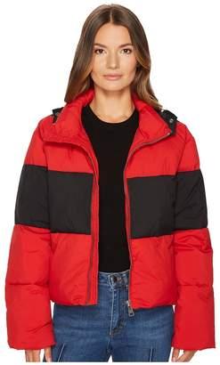 Sonia Rykiel Nylon Down Puffer Coat Women's Coat