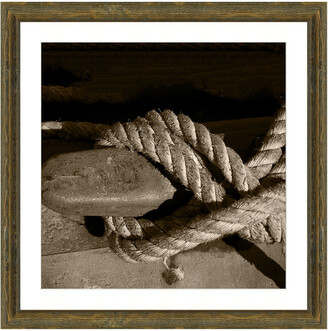 Vintage Print Gallery Nautical Knots In Sepia Ii Photograph